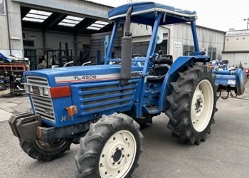 イセキ(iseki):トラクター TL4500F 4WD 2,138時間