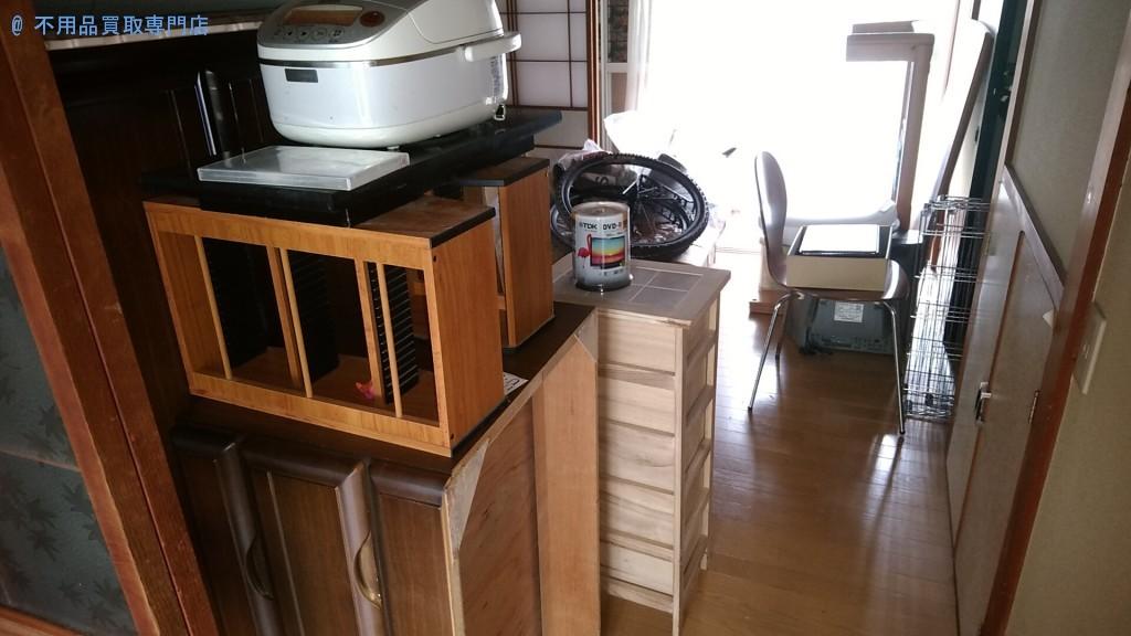 【高知市】キャビネットや炊飯器などの処分と回収・お客様の声