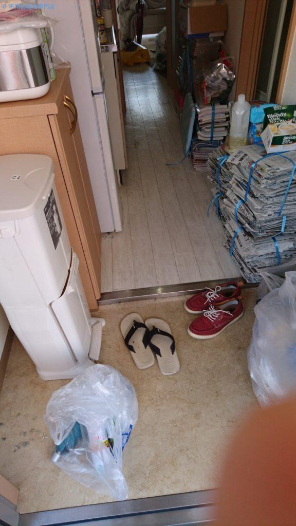 【高知市】引越しに伴う冷蔵庫や新聞などの処分と回収・お客様の声