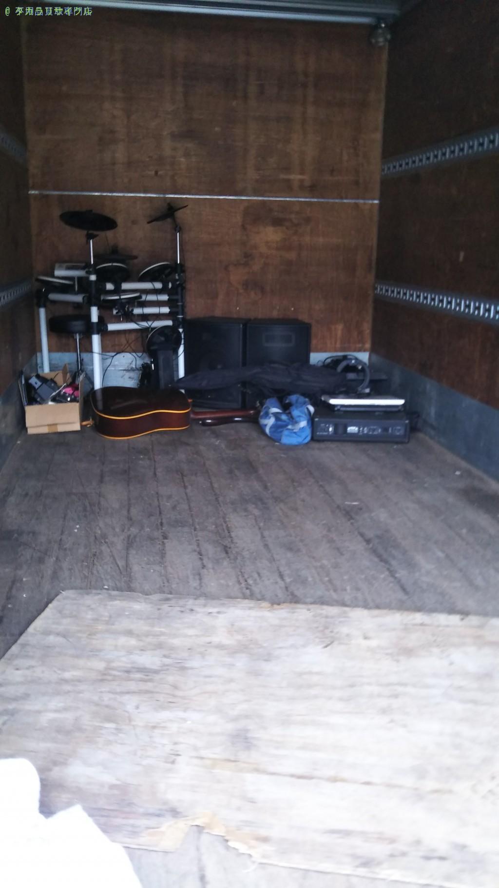 【高岡郡四万十町榊山町】楽器・音楽機材の処分・回収のご依頼者さま