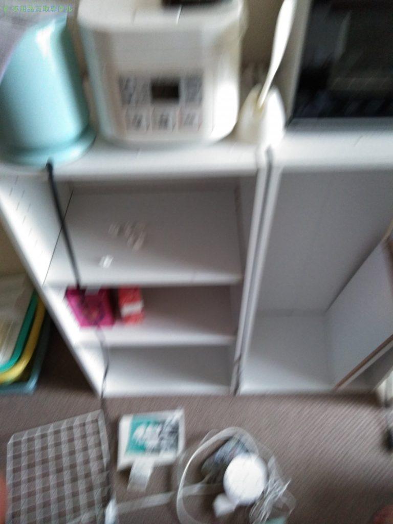 【高知市上町】キッチン家電・カラーボックスの回収のご依頼者さま