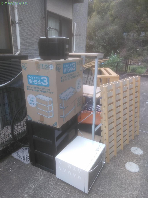 【香美市土佐山田町】家具・家電一式の処分・回収のご依頼者さま